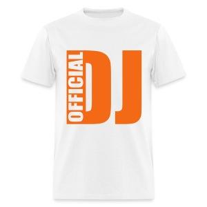 Official DJ Tee - Men's T-Shirt