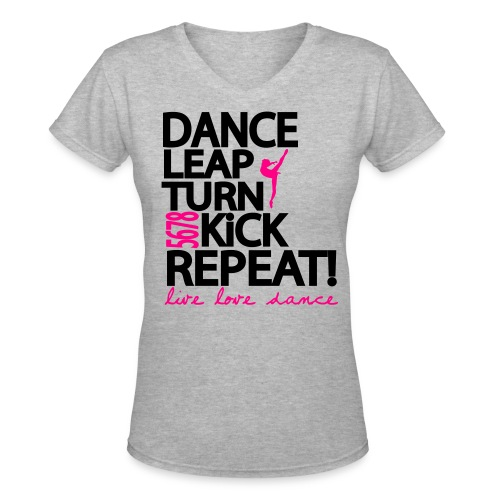 Dance - Women's V-Neck T-Shirt