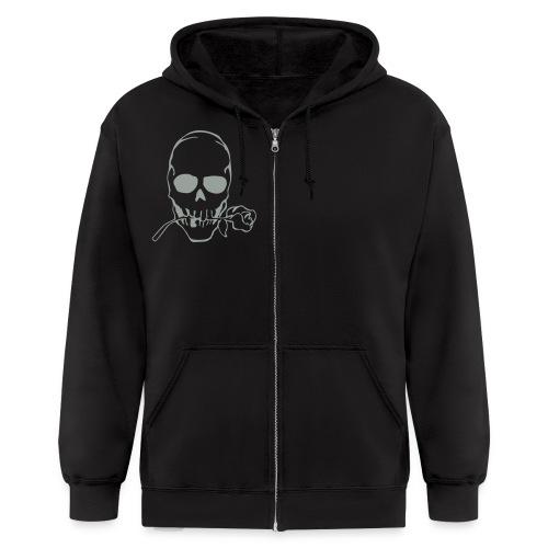 Hooded sweatshirt with emblem - Men's Zip Hoodie