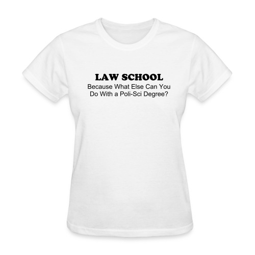 Poli-Sci Degree Women's Tee - Women's T-Shirt