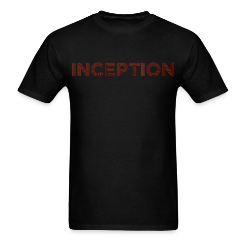 Inception Shirt (Men) w/ URL on Back - Men's T-Shirt