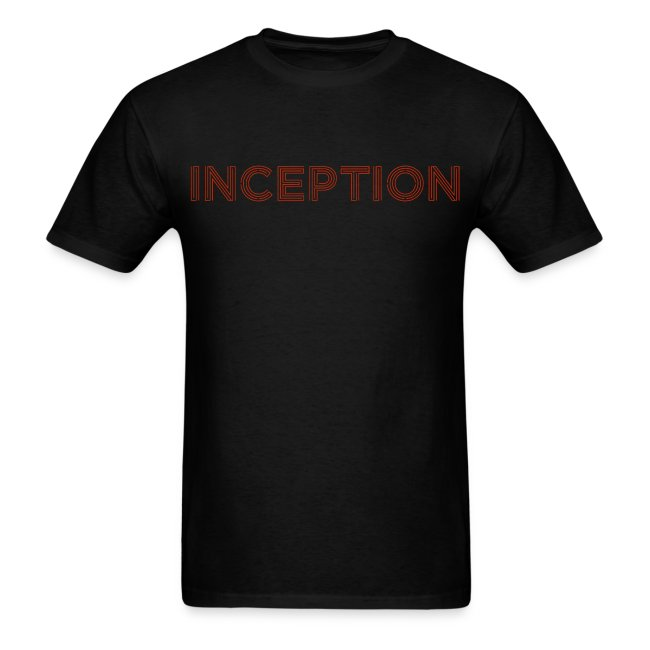 Inception Shirt (Men) w/ URL on Back