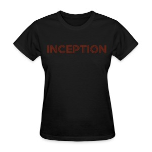 Inception Shirt (Women) w/ URL on Back - Women's T-Shirt