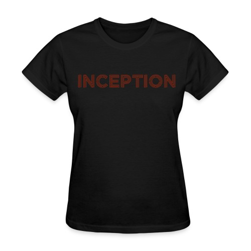 Inception Shirt (Women) w/ URL on Back - Women's T-Shirt