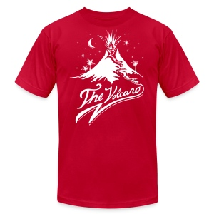 The Volcano  - Men's T-Shirt by American Apparel