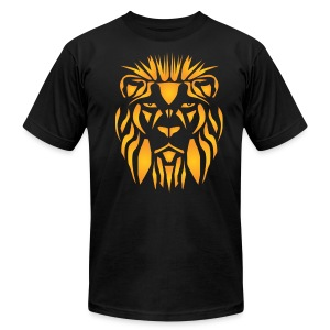 The Lions Mask T-Shirt - Men's T-Shirt by American Apparel