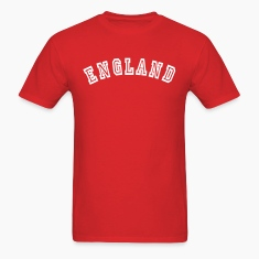 Red England T-Shirts