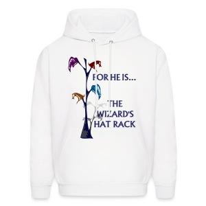 Wizard's Hat Rack Hoodie - Men's Hoodie