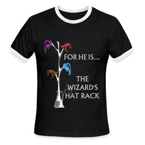 Wizard's Hat Rack Ringer - Men's Ringer T-Shirt