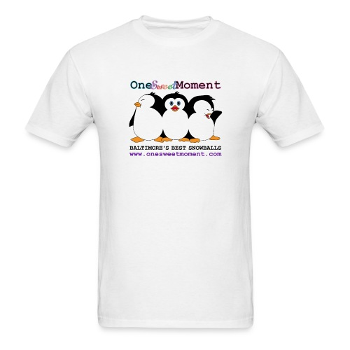 Men's penguin logo tee - Men's T-Shirt