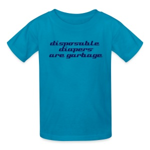 disposable diapers - Kids' T-Shirt