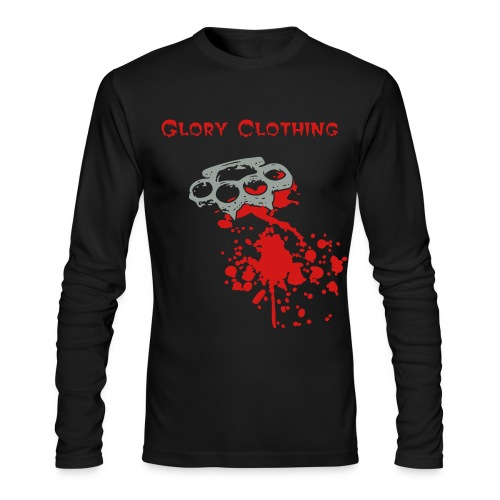 GC-Bloody Knuckles Long sleeve - Men's Long Sleeve T-Shirt by Next Level