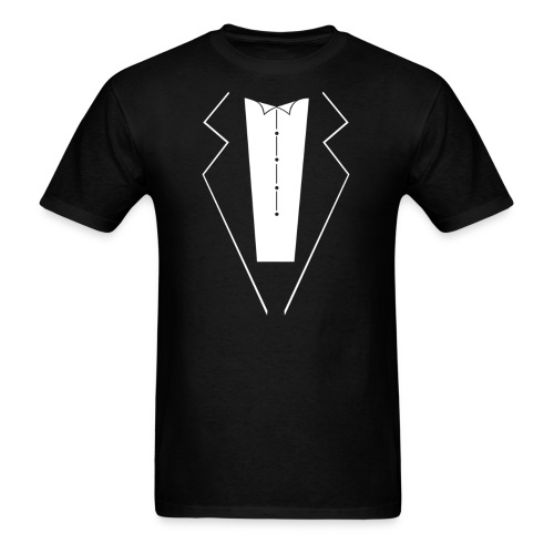 Tuxedo T-Shirt - Men's T-Shirt