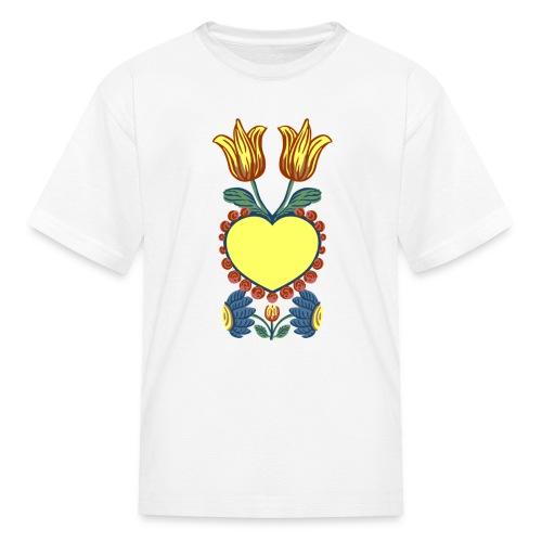 Faith, Hope, Charity & Love - Kids' T-Shirt