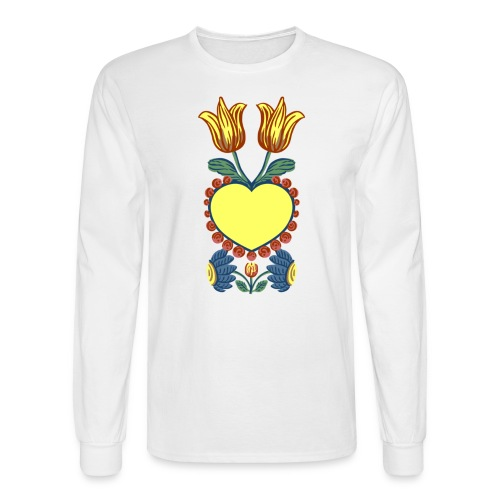 Faith, Hope, Charity & Love - Men's Long Sleeve T-Shirt