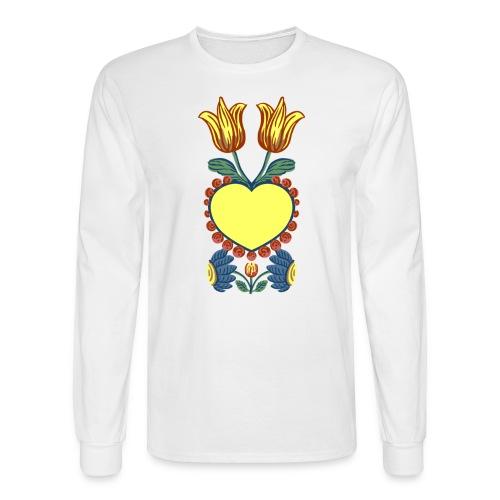 Faith, Hope, Charity & Love - Men's Long Sleeve T-Shirt