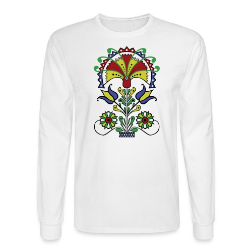 Pot O' Tulips - Men's Long Sleeve T-Shirt