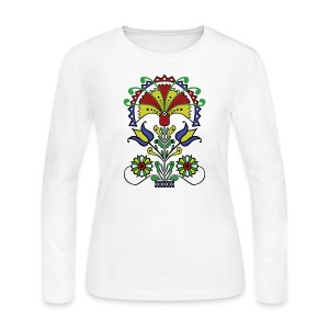 Pot O' Tulips - Women's Long Sleeve Jersey T-Shirt