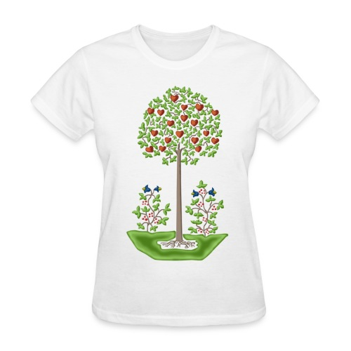 Tree of Love - Women's T-Shirt