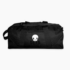 Dark red dead and loving it SKULL emo fashion Bags