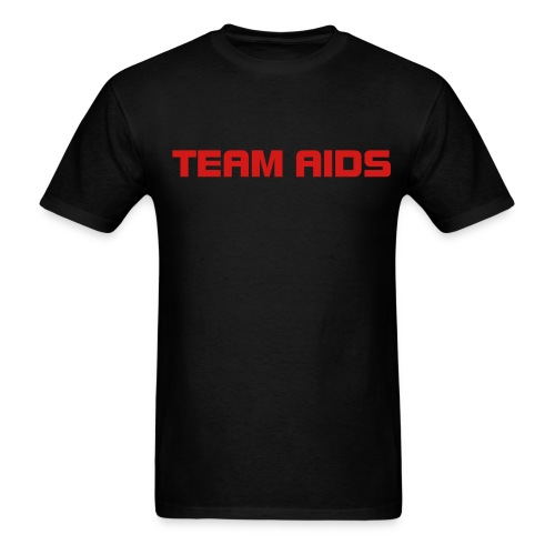 TEAM AIDS T - Men's T-Shirt