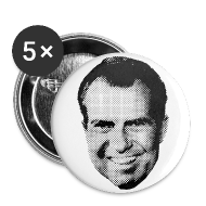 Buttons ~ Small Buttons ~ RICHARD NIXON-Set of Five Buttons