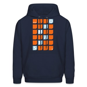 Voices of Mars - Square-O Hoodie for Men - Men's Hoodie