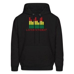 Listen to the Beat  Hoodie for Men - Men's Hoodie