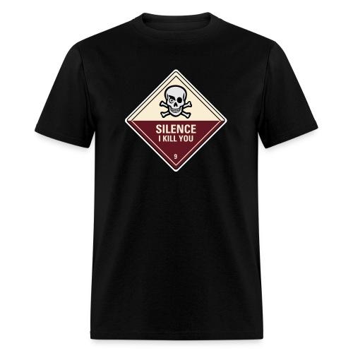 Silence Ikill You - Men's T-Shirt