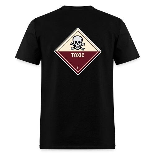 Toxic (Back) - Men's T-Shirt