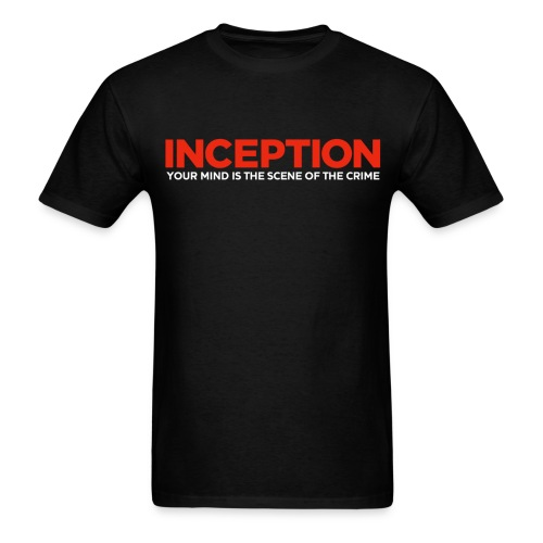 Inception, Your Mind (Men) w/ URL on Back  - Men's T-Shirt