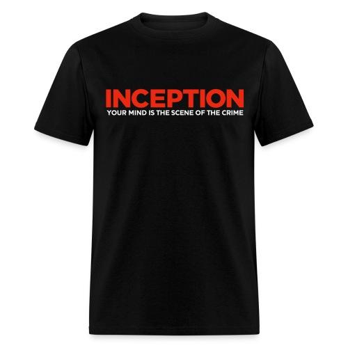 Inception, Your Mind (Men) w/ URL on Back  - Men's T-Shirt