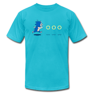 T-Shirts ~ Men's T-Shirt by American Apparel ~ Eric Sonic tee