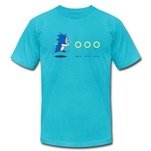 Eric Sonic tee - Men's T-Shirt by American Apparel