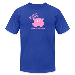 KIRB your enthusiasm - Men's T-Shirt by American Apparel