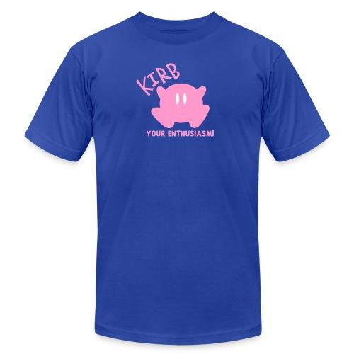 KIRB your enthusiasm - Men's Fine Jersey T-Shirt