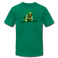 T-Shirts ~ Men's T-Shirt by American Apparel ~ Catzilla tee