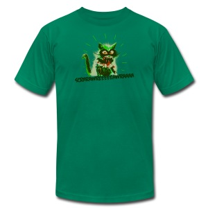 Catzilla tee - Men's T-Shirt by American Apparel