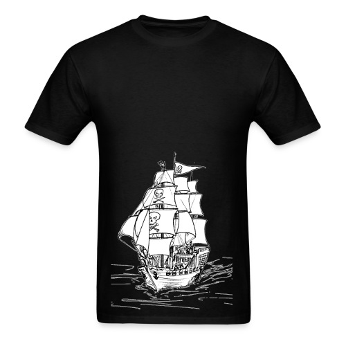 Piracy - Men's T-Shirt