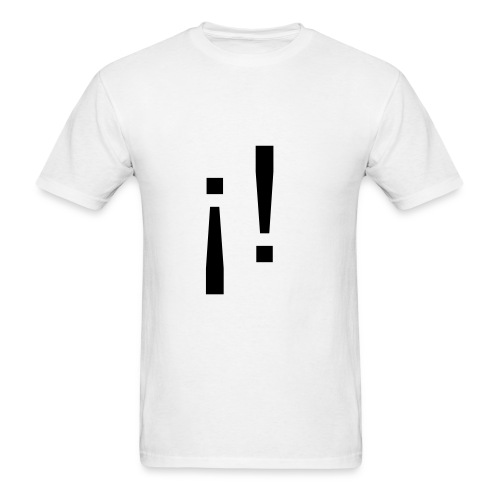 Mexclamation Point - Men's T-Shirt