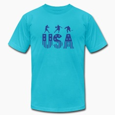 Turquoise sports T-Shirts