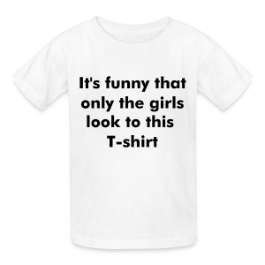Only the girls see it - Kids' T-Shirt