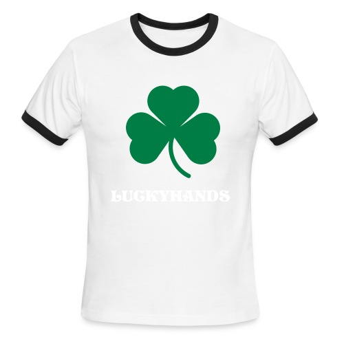 LUCKY TEE - Men's Ringer T-Shirt