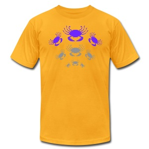 Crabs - Men's T-Shirt by American Apparel