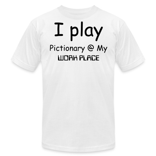 Men's Fine Jersey T-Shirt - What Do you play