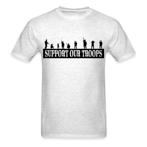 Support Our Troops T-Shirt - Men's T-Shirt