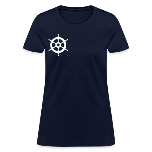 Steer the Boat - Women's T-Shirt