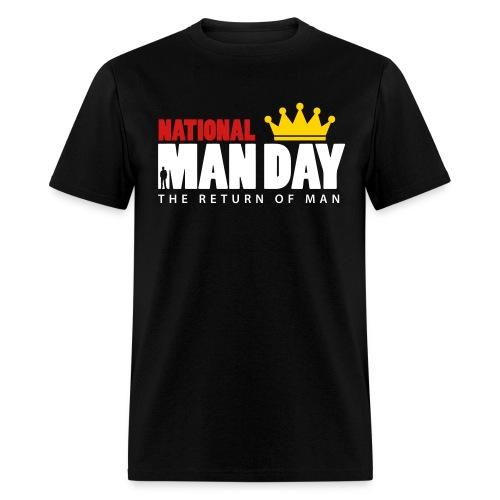 Man Day Logo T - Men's T-Shirt