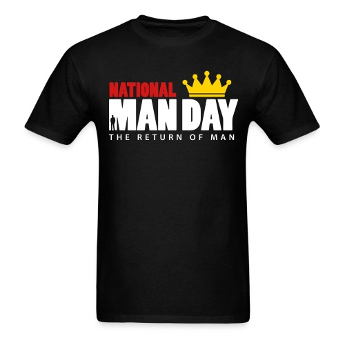 Man Day Logo T - Men's T-Shirt