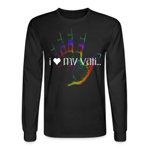 Hand of F.A.I.T. Series - Danke Vati Long Sleeve - Men's Long Sleeve T-Shirt